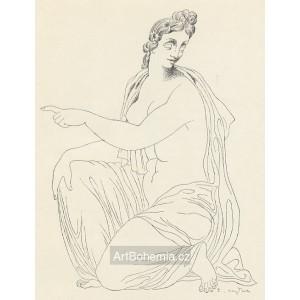 Klečící akt (Ovidius)