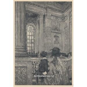 La Chapelle du chateau de Versailles (1918)