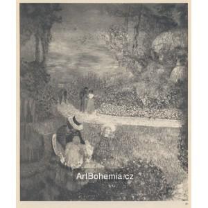 Dans un Jardin en Normandie (1898)