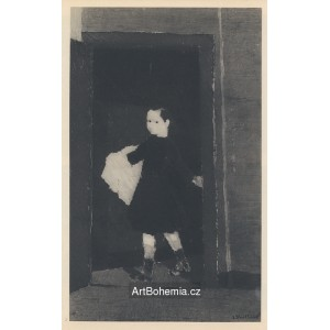 Enfant en blouse noire (1892)