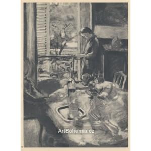 Vieile femme au fourneau (1893), opus 1