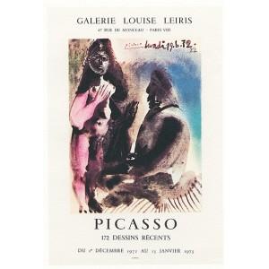 172 dessins récents - Affiche d´Exposition - Galerie Louise Leiris (1972)