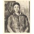 Portrait de Mme Cézanne en bleu
