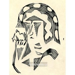 Plačící žena (Červen)
