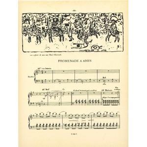 Promenade a anes (Petites scenes familieres) (1893), opus 16