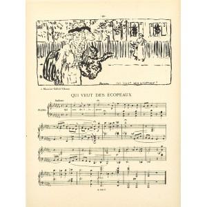 Qui veut des écopeaux (Petites scenes familieres) (1893), opus 14