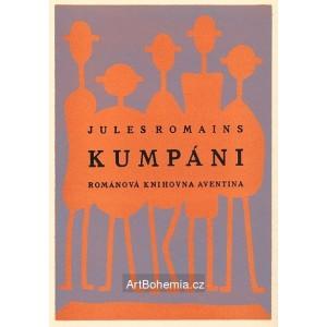 Jules Romains - Kumpáni (obálka)