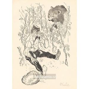 Jak medvěd hlídal vinohrad