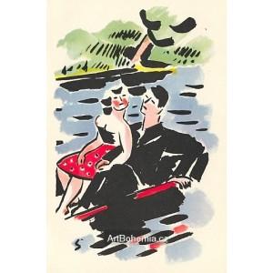 Na loďce (1927)