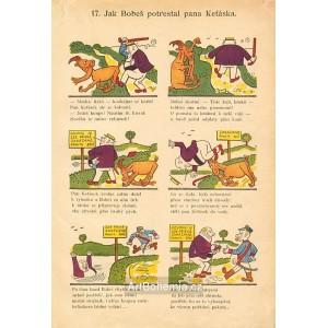 17. Jak Boneš potrestal pana Keťáska (Šprýmové kousky Frantíka Vovíska a kozla B