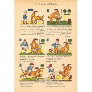 8. Hra na velblouda (Šprýmové kousky Frantíka Vovíska a kozla Bobeše)