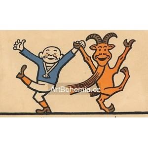 Frantik tancuje s Bobešem I (Šprýmové kousky Frantíka Vovíska a kozla Bobeše)