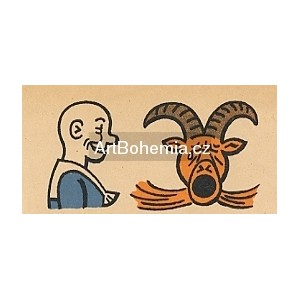 Frantik šprýmuje s Bobešem I (Šprýmové kousky Frantíka Vovíska a kozla Bobeše)