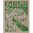 Jan Konůpek - Exlibris a příležitostná grafika