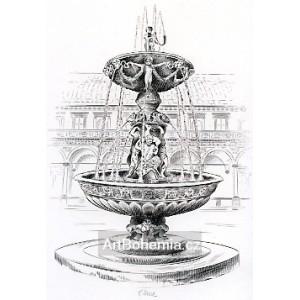 Zpívající fontána a Belvedere - PF 1978 Bedřich Housa