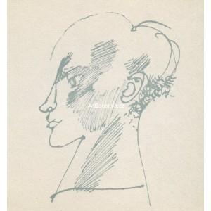 Profil mladíka (W.Shakespeare: Sonety)