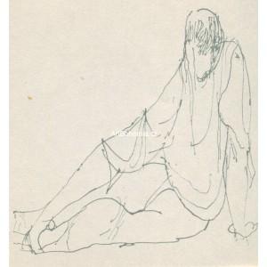 Sedící figura (W.Shakespeare: Sonety)