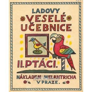 Ladovy Veselé učebnice - II. Ptáci - titul