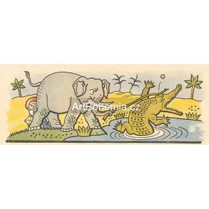Slon Jumbo bojovník