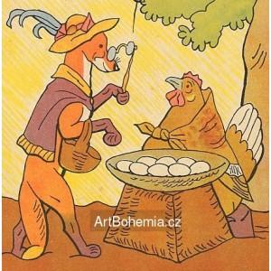 """""""Kupte vejce"""", volá kvočna, """"co si s nimi počnu?""""..."""