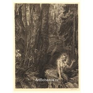 Satyr zpívá hymnus na les (1944)