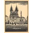 Alt Prag - Die Teyn-Kirche (Týnský chrám na Staroměstském náměstí)