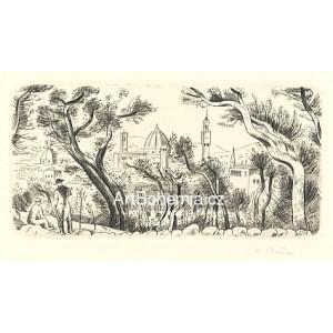 Florencie ze zahrady Boboli, opus 487
