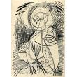 Kubistická figura VII