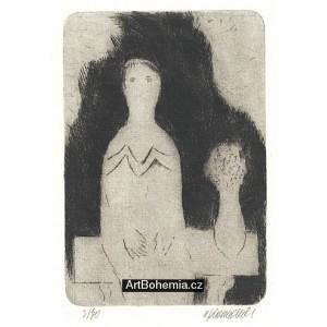 Dívka na lavičce (k nedožitým 85* Jaroslava Seiferta)