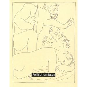 Céphale tue par mégarde sa femme Procris (Les Métamorphoses d´Ovide)