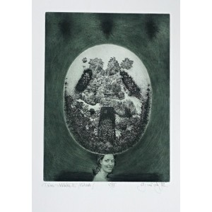Dáma v klobouku III (Zahrada) - Lady with a Hat III (Garden), opus 489