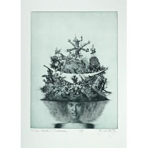Dáma v klobouku V (Představení) - Lady with a Hat V (Performance), opus 488