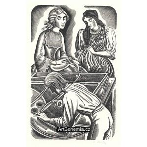 Ladič a dvě ženy, opus 733 (Božena Němcová: Pohorská vesnice)