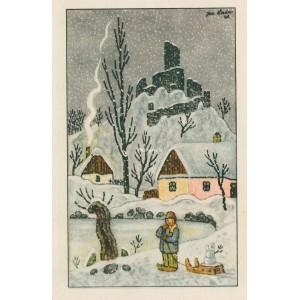 Chlapec a sněhulák (1948)