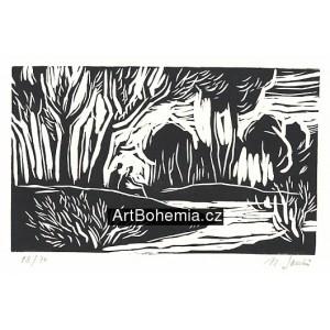 Říčka v lese (k nedožitým 90* Jaroslava Seiferta)