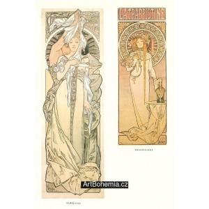 Paříž (1900) + La Trappistine (1897)