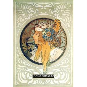 Byzantská hlava - Světlovláska (1897)