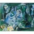 Le Déjeuner sur l´herbe (d´après Manet) (18.6.1961)