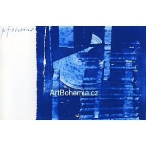 Modrá abstrakce - PF 1981 Josef Istler