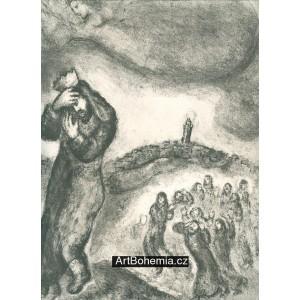 David, barefoot, climbs Mount Oliver (71)