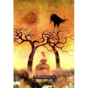 Červený ptáček na viklanu (1977)
