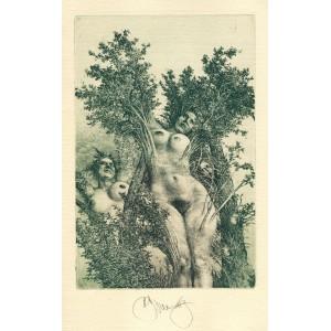 Ovidius: Příběhy Orfeovy - bibliofilie s komplet 6 grafikami (varianta A)