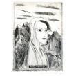 Žena v horách