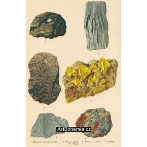 Atlas minerálů I