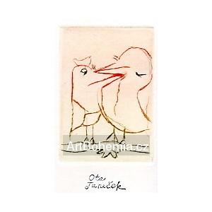 Mazlící se ptáčci (Jaroslav Seifert: Jarní rondeaux)