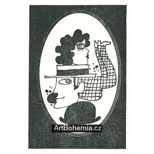 Ilustrace ke knižnímu vydání her Semaforu: Dobře placená procházka III