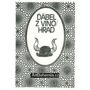 Ilustrace ke knižnímu vydání her Semaforu: Ďábel z Vinohrad I