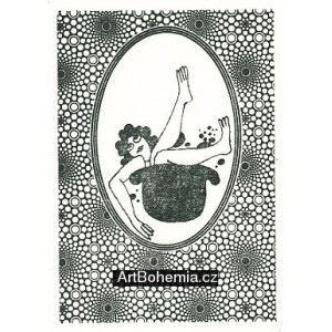 Ilustrace ke knižnímu vydání her Semaforu: Ďábel z Vinohrad IV