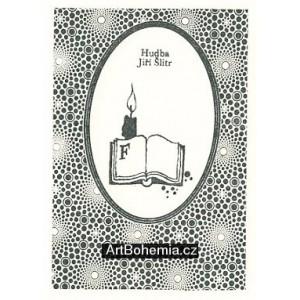 Ilustrace ke knižnímu vydání her Semaforu: Hamlet a Faust III