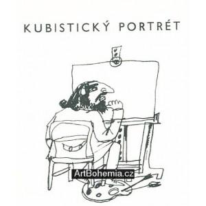 Ilustrace k písničce Jiřího Suchého Kubistický portrét I